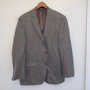 Lauren Ralph Lauren Mens Plaid Suit Jacket 42R